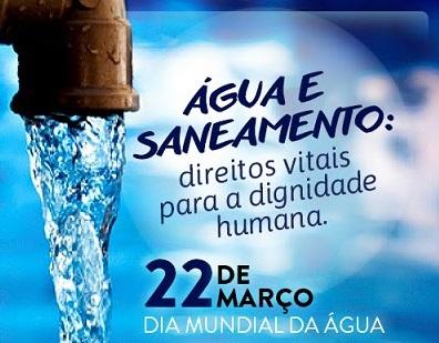 DIA 22 DE MARÇO  - DIA MUNDIAL DA ÁGUA