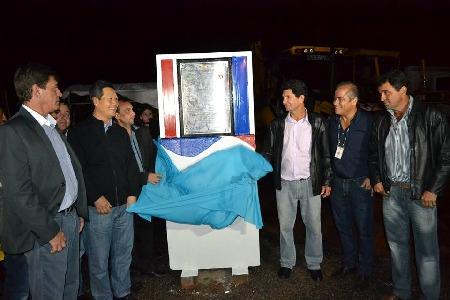 Inauguração das 202 Unidades Habitacionais do Município de Lobato