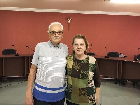 Visita ilustre do Primeiro Prefeito do Municipio de Lobato o Sr.  Ildefonso Martins Portelinha