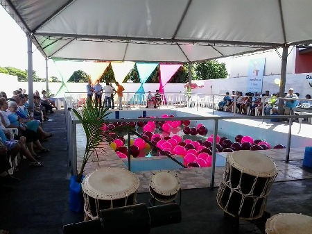 Inauguração da Piscina Terapêutica  no Centro de Convivência do Idoso.