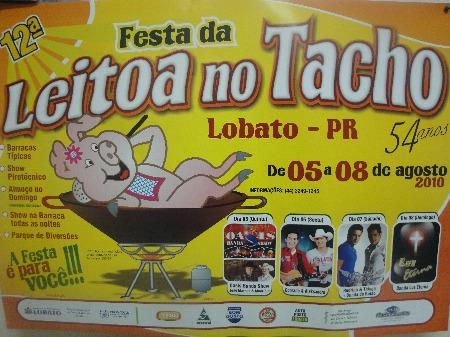 12º Festa da Leitoa No Tacho