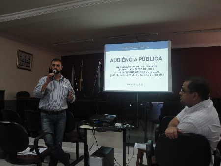 Audiência Publica do Executivo Municipal