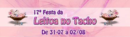 17ª Festa da Leitoa no Tacho de Lobato