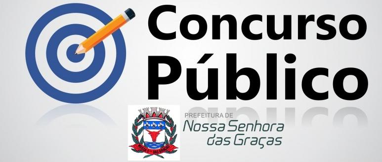 EDITAIS DE CONVOCAÇÃO N° 001, 002 E 003 - 2019 - DO CONCURSO PUBLICO DA PREFEITURA MUNICIPAL DE NOSSA SENHORA DAS GRAÇAS N° 001/2019